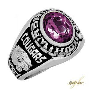 Explorer Class Ring White Lazon Class Ring Ring Boy White Ring