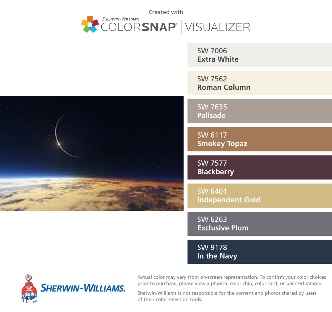 Solar Eclipse Sherwin-Williams: Extra White (SW 7006