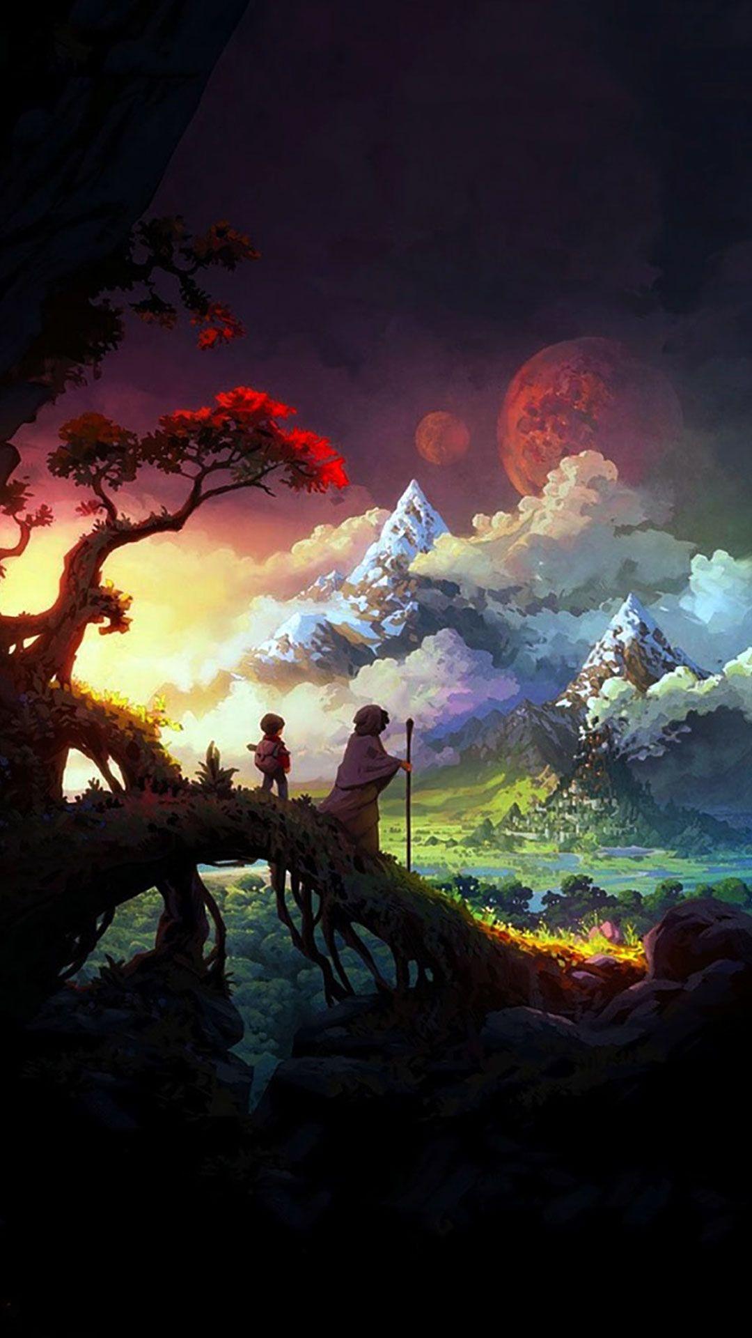 3d Animated Wallpaper For Iphone Best Wallpaper Hd Fantasy Landscape Fantasy Artist Fantasy