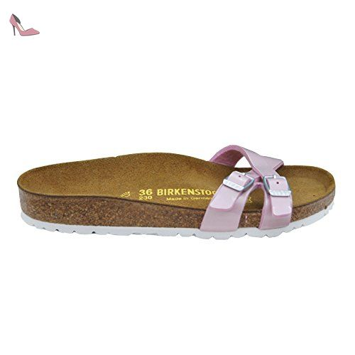 Arizona, Bout Ouvert Femme, Rose (Noir Magic Galaxy Bright Rose), 35 EUBirkenstock