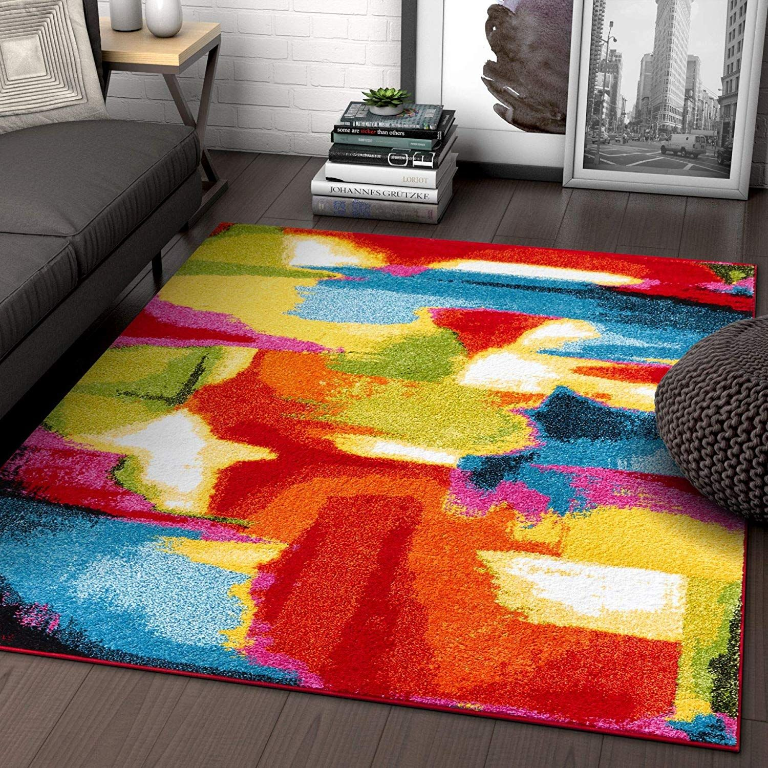 Multi Color Living Room Area Rugs Colorful Living Room Bright Rugs Area Rugs