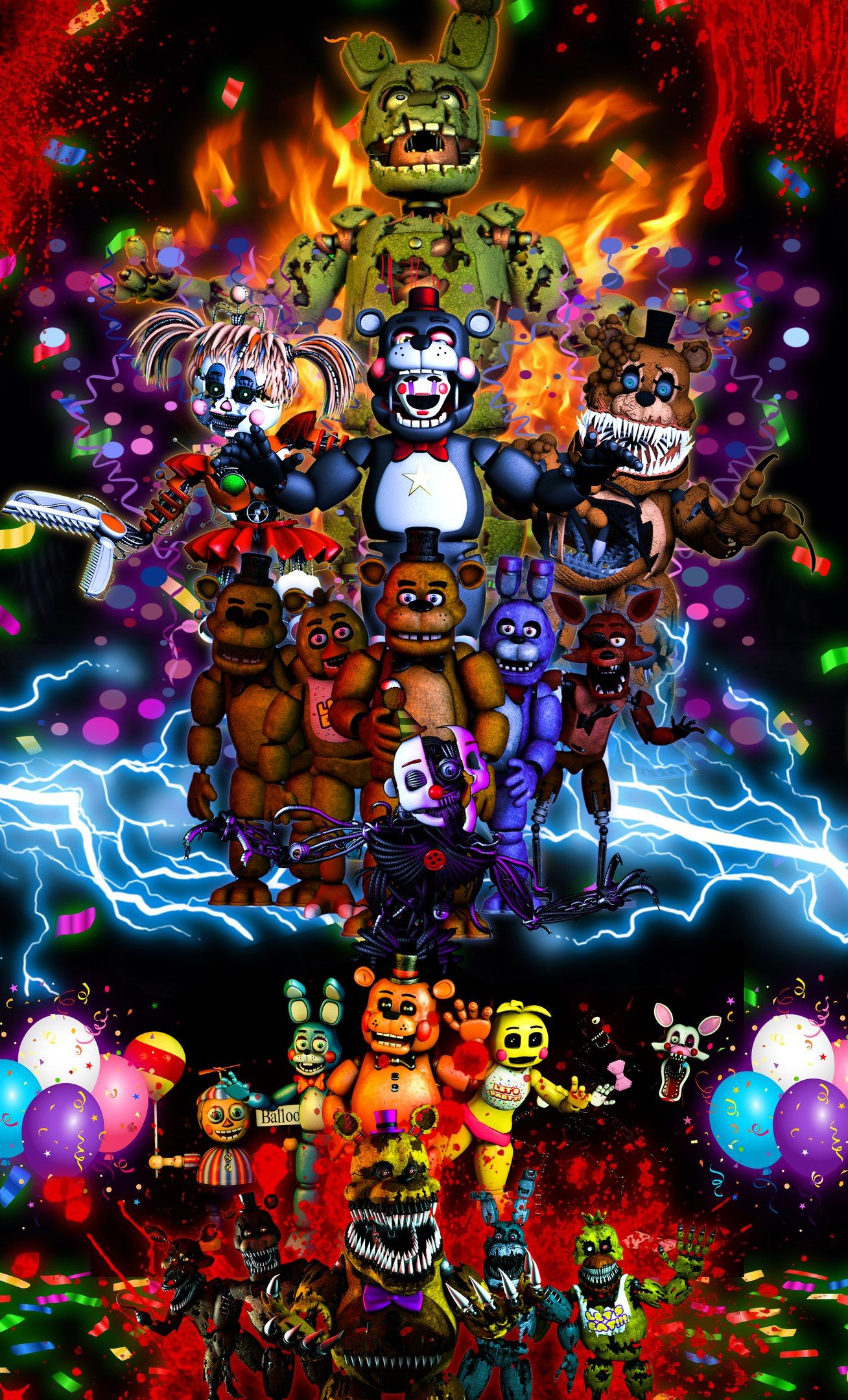 Ultimate Fnaf wallpaper Fnaf wallpapers, Five nights at
