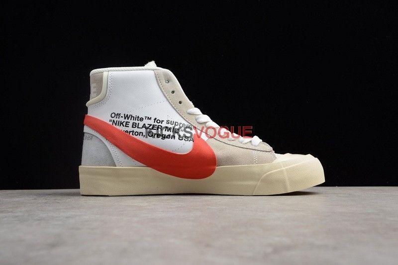 9f118bc855 Custom Off-White X Nike BLAZER STUDIO MID Supreme | www.kicksvogue ...