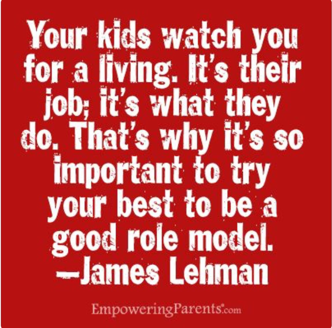 Roll Model Parent Quotes Quotes Parenting Role Models
