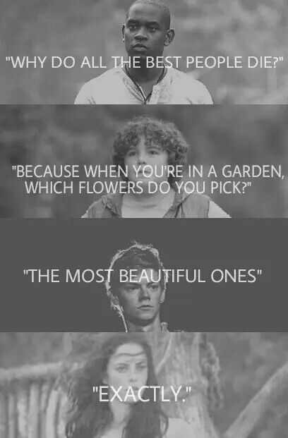 Wow I found this quote in Maze Runner ver  | Maze Runner
