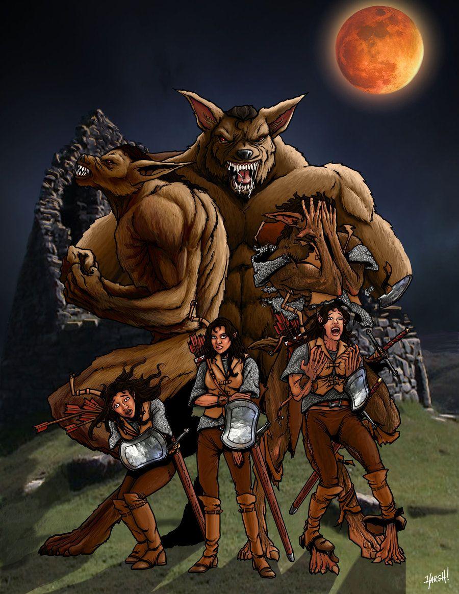 Werewolf Anime Transformation Feet Transform Werewolf