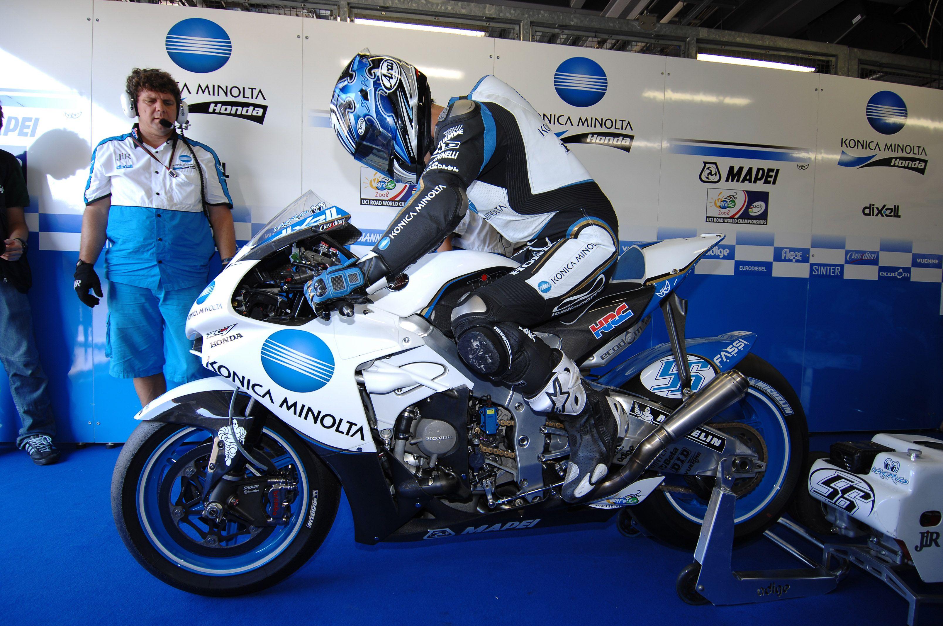 Shinya Nakano - Konica Minolta Honda - 2007 MotoGP ...