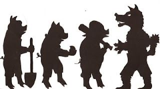the three little pigs puppet templates - three pigs shadow puppets 3 little pigs unit pinterest