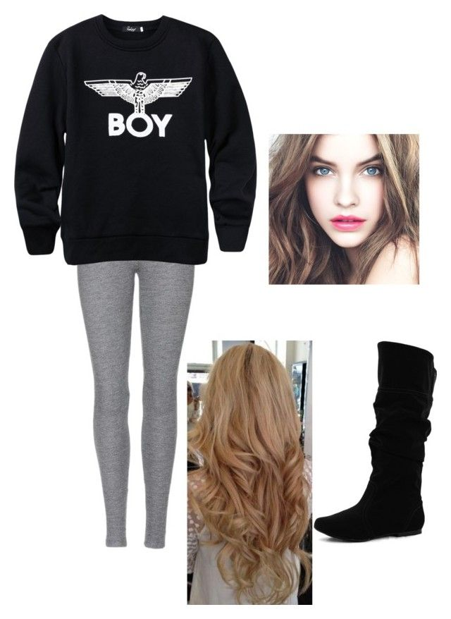"""""""Ootd"""" by eleanor-97 ❤ liked on Polyvore featuring Velvet, BOY London, Qupid, women's clothing, women, female, woman, misses and juniors"""