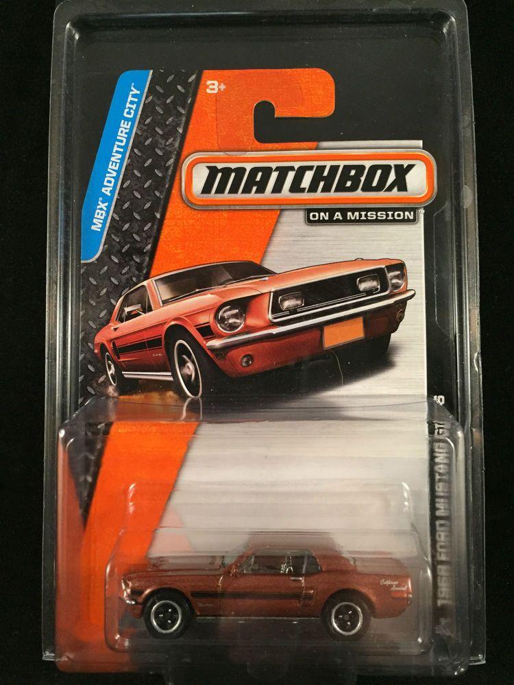 2014 Matchbox MBX Adventure City 1968 FORD MUSTANG GT CS