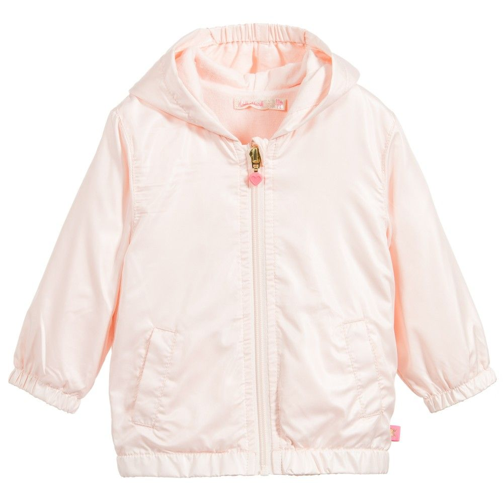 a28d34829dd1 BILLIEBLUSH Baby Girls Pale Pink Fold-Away Jacket