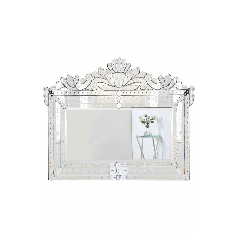 Venetian Clear 43 Inch Mirror Elegant Lighting Arched Amp