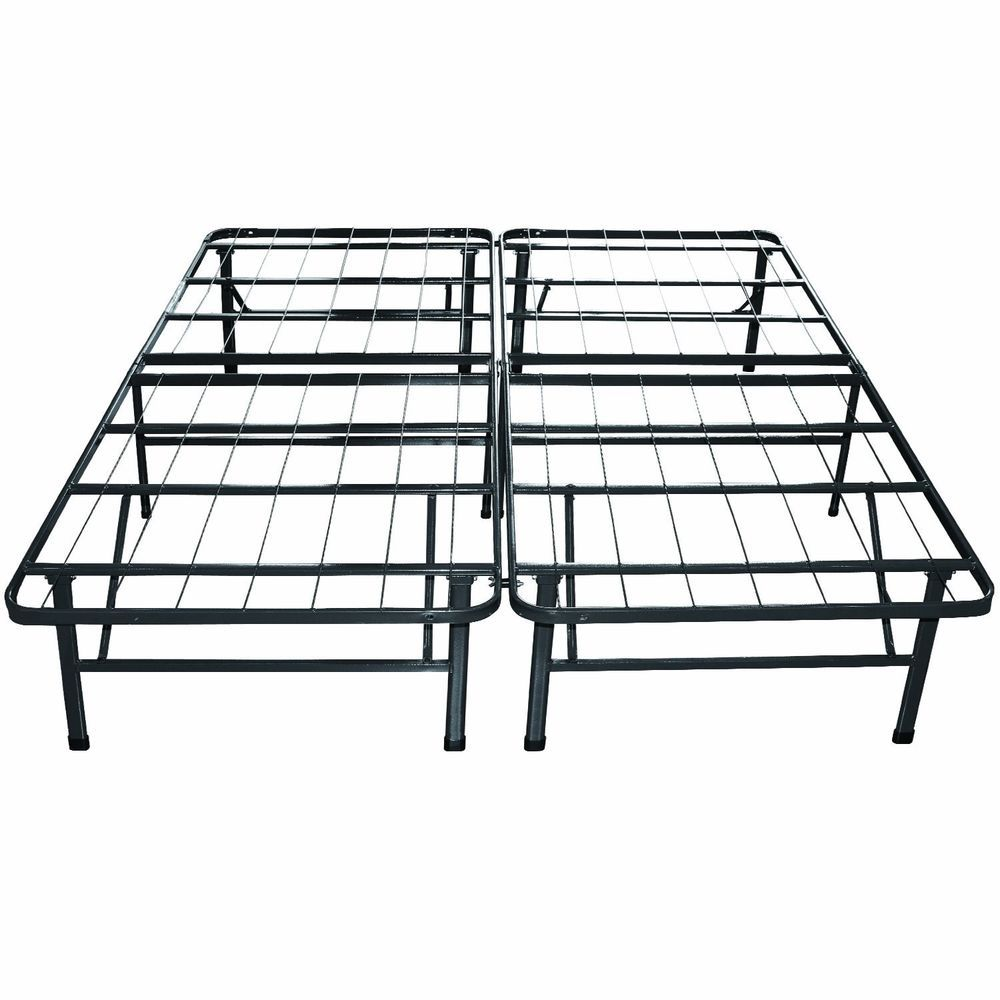 Best Sleep Master Metal Bed Headboard Size Frame New Black 400 x 300