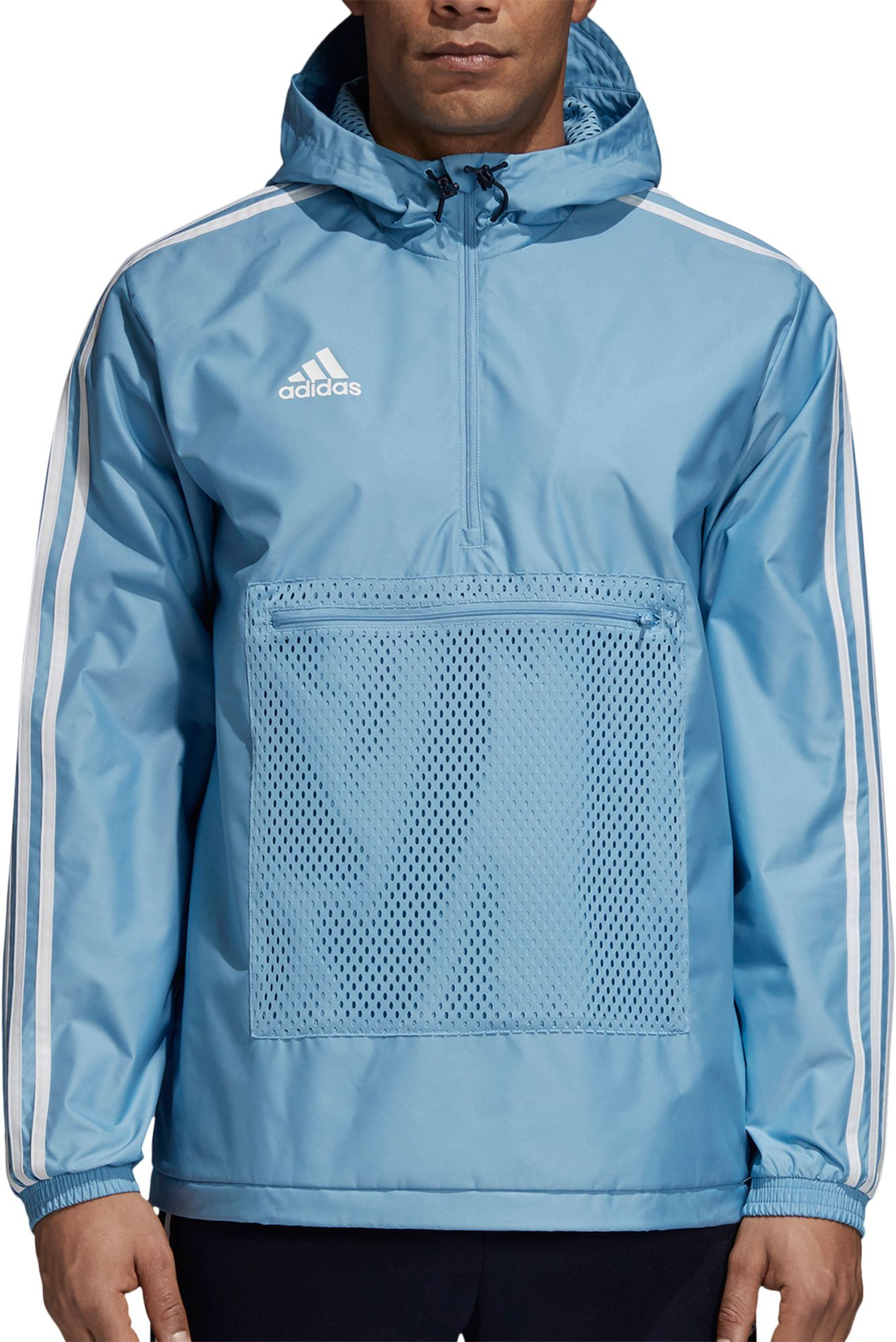 f3e74027c5d4 adidas Men s Tango Half Zip Windbreaker Jacket