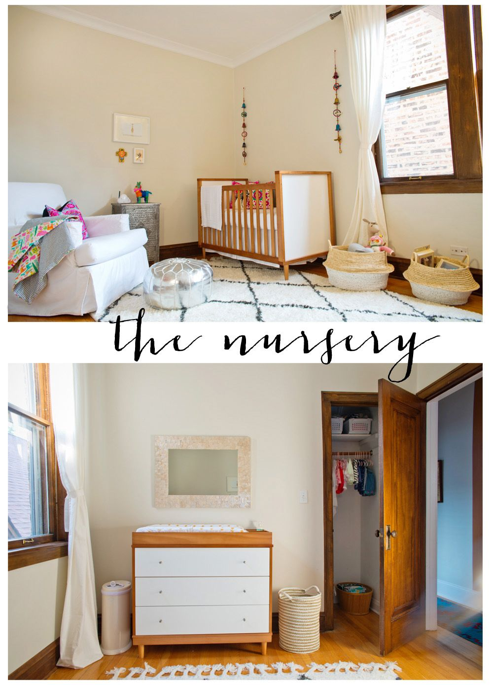 mirror over the changing table babyletto skip collection  baby's  - mirror over the changing table babyletto skip collection