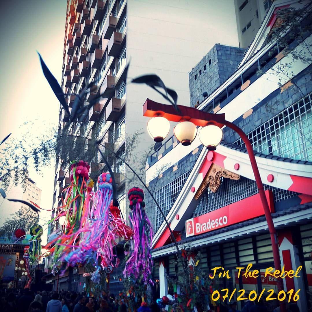 Tanabata Matsuri (Festival of the stars), at Liberdade district, São Paulo, Brazil. (Tanabata Matsuri - Festival das estrelas), bairro da Liberdade, São Paulo). #saopaulo #saopaulocity #brazil #brasil #city #cidade #japan #japao #nippon #tanabata...