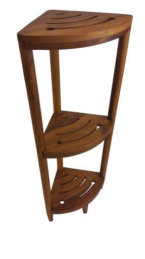 The Original Kai™ Corner Teak Bath Shelf | Pinterest | Driftwood ...