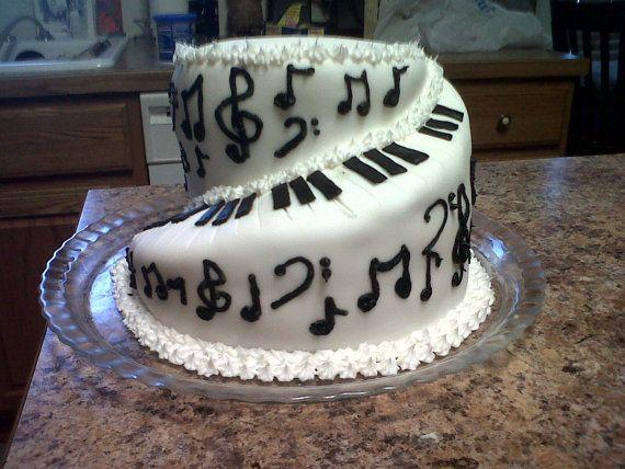Best 25 Music Note Cake Ideas On Pinterest Music