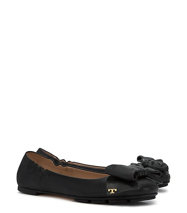 5f22569dc46f0 Tory Burch Divine Bow Driver Ballet