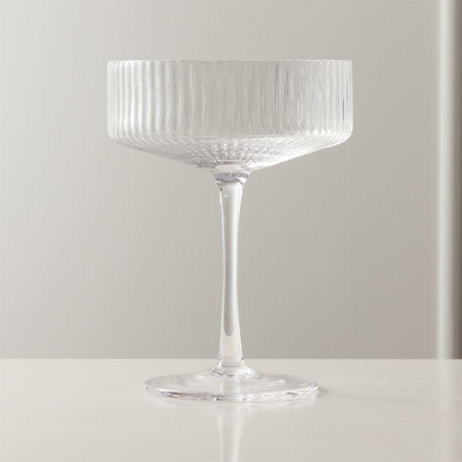 Eve Coupe Cocktail Glass Reviews Cb2 Vintage Cocktail Glasses Cocktail Glassware Cocktail Glass