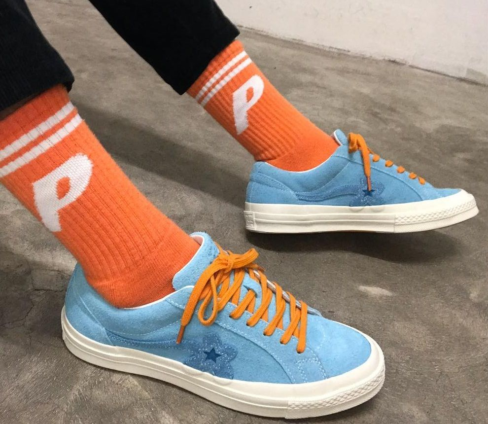 Tyler The Creator X Converse Golf Le Fleur Bacherlo Blue Vibing