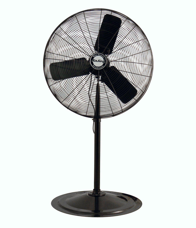 Retro 16 Oscillating Floor Fan Pedestal Fan Stand Fan Best