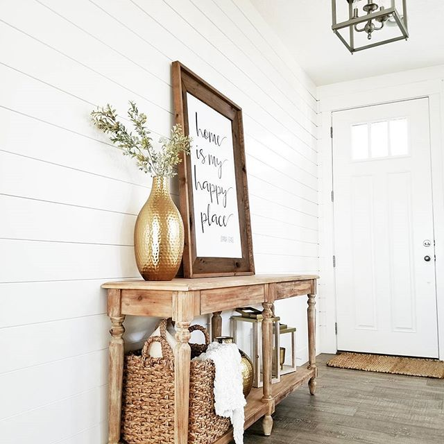 Whitelanedecor Whitelanedecor Everett Foyer Table White Washed Wood Entry Table White Washe Foyer Table Decor White Wash Wood Floors Glass Kitchen Cabinets