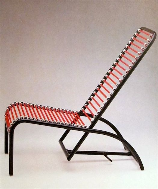 Bungee Cord Chairs + Furniture (rene Herbst)