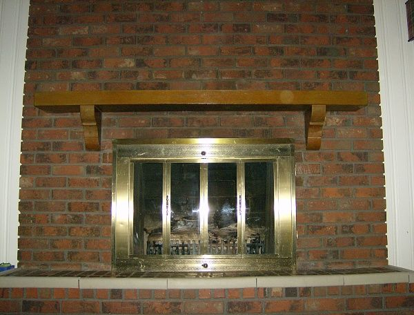 Mantels For Brick Fireplaces 1960 S Fireplace Help