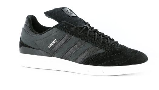 low priced 4fdca 74951 Adidas Busenitz Pro Classified Skate Shoes - black black white - Free  Shipping
