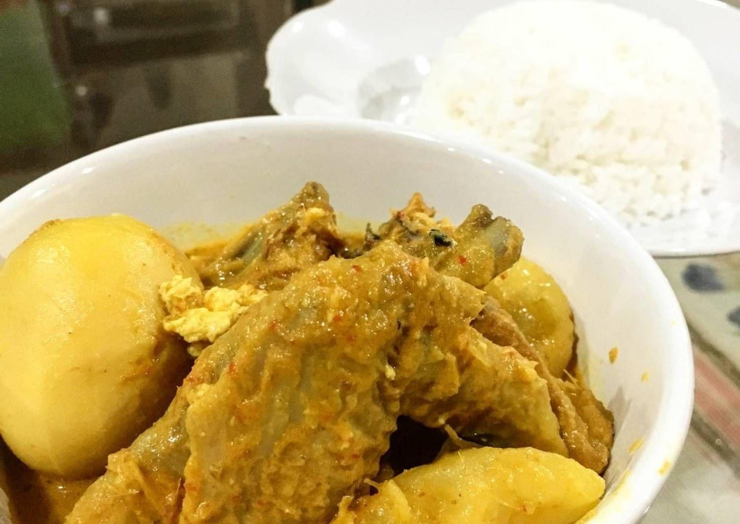 Resep Kari Ayam Ala Tabona Medan Oleh Ellis Ho Resep Resep Masakan Indonesia Resep Masakan Masakan