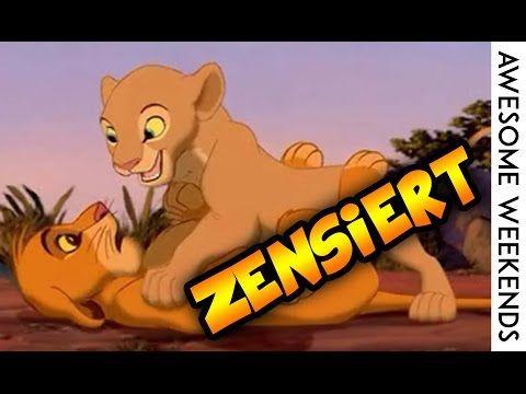 Die Neue Konig Der Lowen Zensiert Parodie Sei Dabei Wenn Simba Und Nala Ihre Ersten Erfahrungen Machen Und Der Konig Disney Konig Der Lowen Simba Und Nala