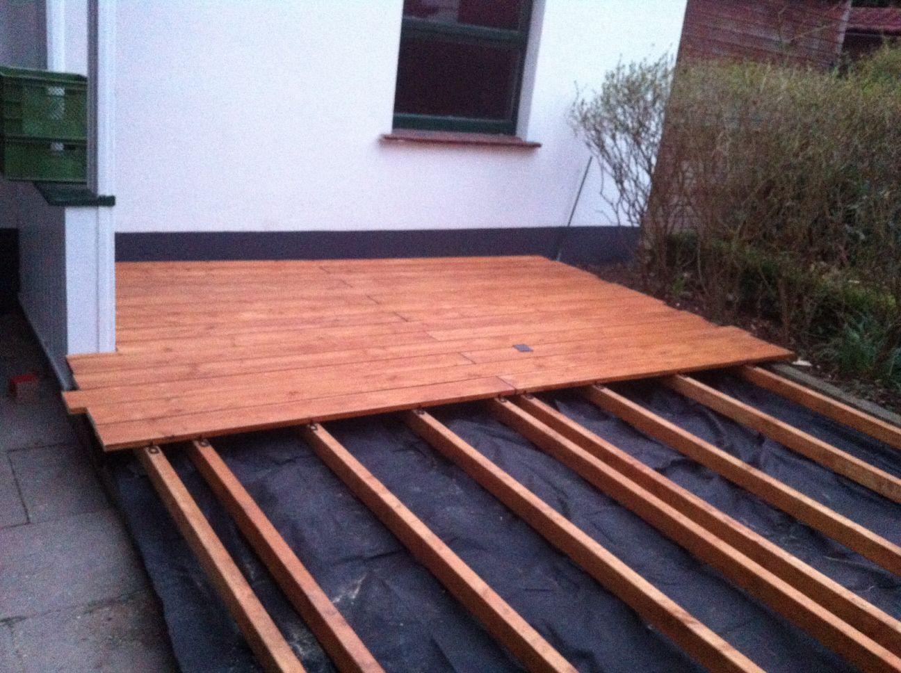 Projekt: Holzterrasse