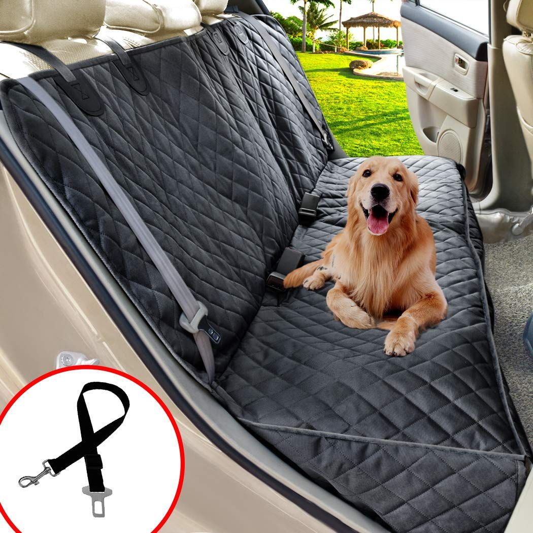Henkelion Dog Seat Cover Dog Car Seat Covers For Dogs Pets 100 Waterproof Universal Fit Cars And Suv Bench Dog Car Dog Car Seat Cover Dog Seat Dog Seat Covers