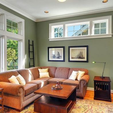 Bm Dry Sage Brown Living Room Family Room Paint Colors Sage Green Living Room