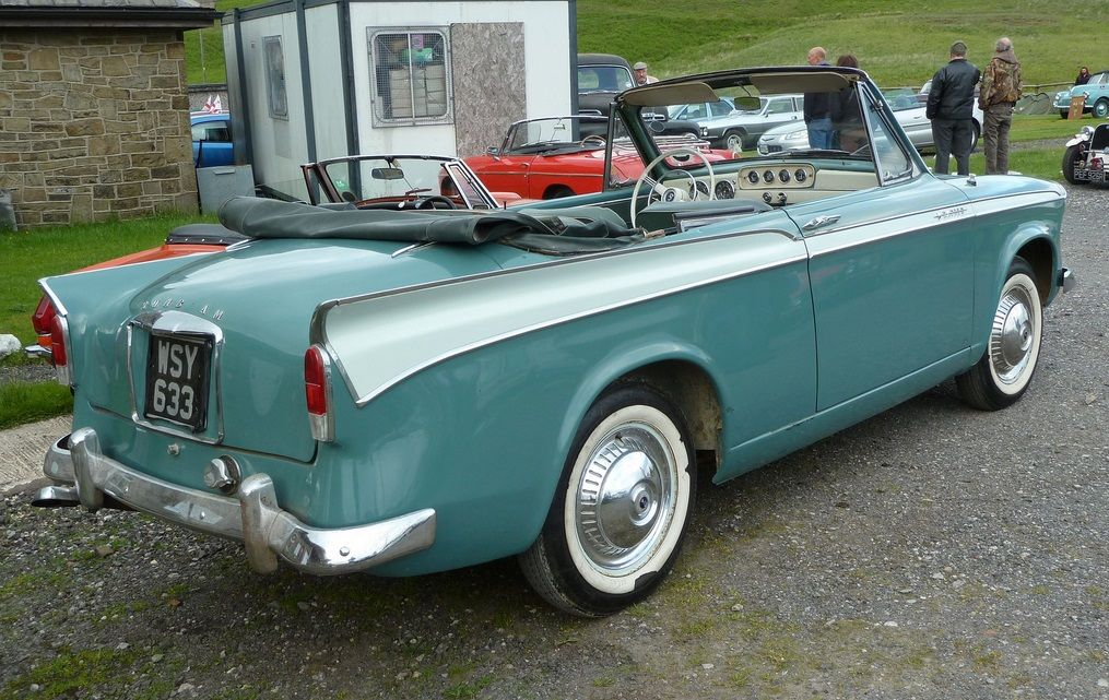 1958 Sunbeam Rapier convertible Maintenance of old vehicles: the material for new cogs/casters/gears/pads could be cast polyamide which I (Cast polyamide) can produce