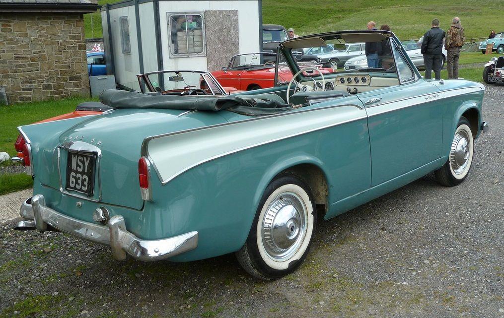 1958 Sunbeam Rapier convertible Maintenance of old vehicles: the ...