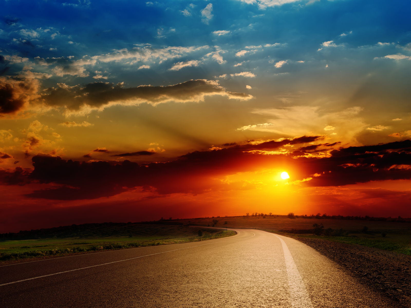 Road Sunset Wallpaper sunset road trip hd wa...