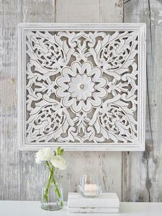 Image Result For Carved Mirror Backed Wall Plaque Square