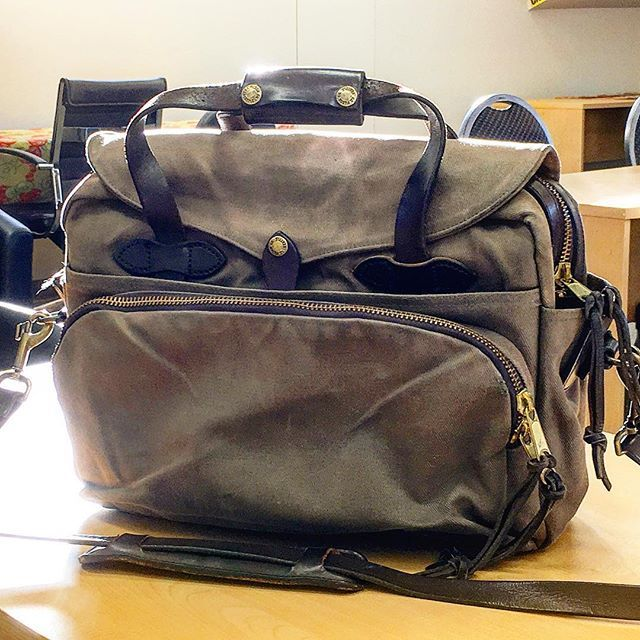 The New To Me Filson Computerbag I Ve Had It For About 2 Weeks Now And Have Nothing But Great Reviews For It Filson1897 Abouthatlife Black