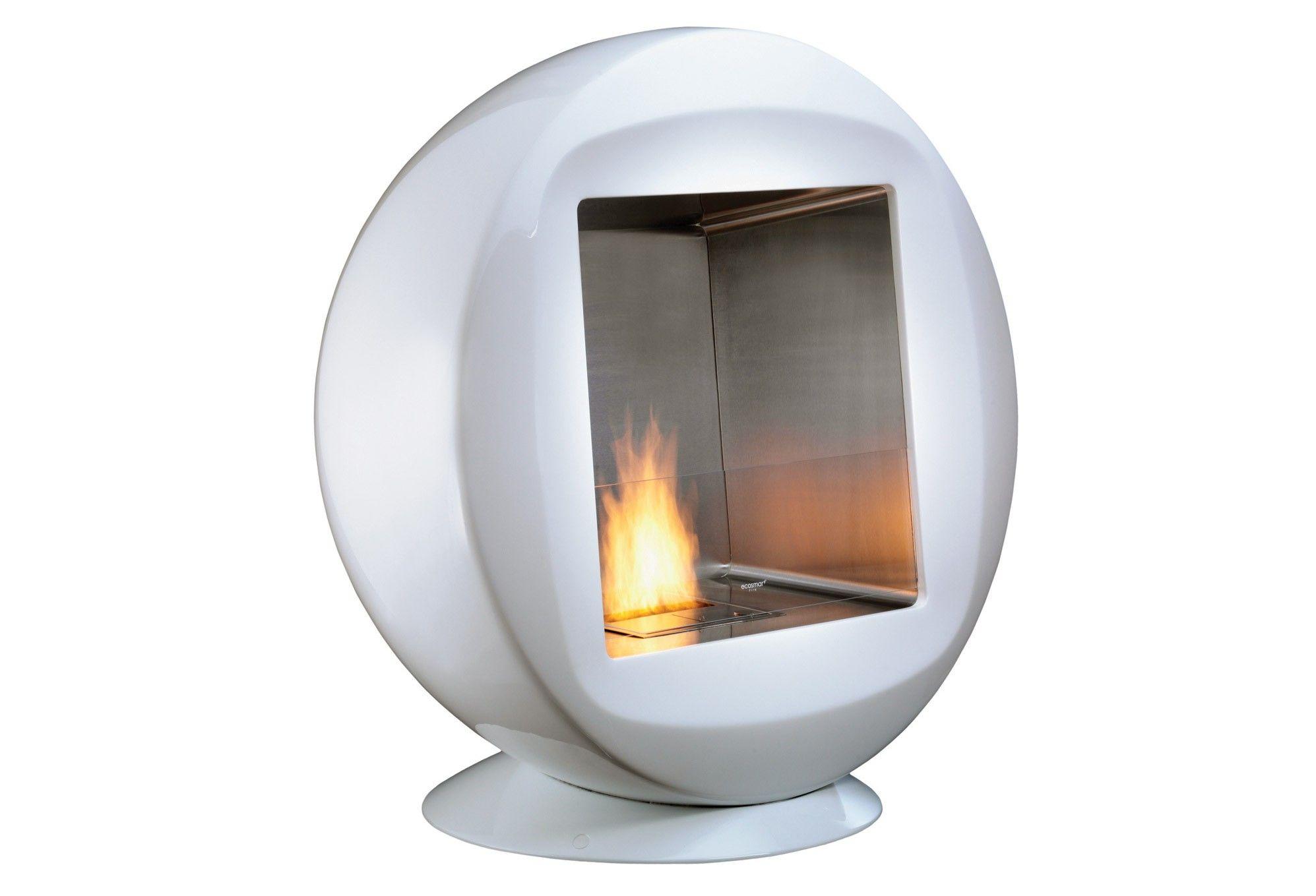 EcoSmart Fire: Q Modern Ventless Designer Indoor or Outdoor Fireplace