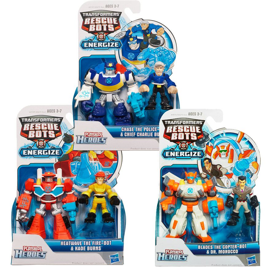 Playskool Heroes Transformers Rescue Bots Toy Birthday Christmas Gift AU Stock