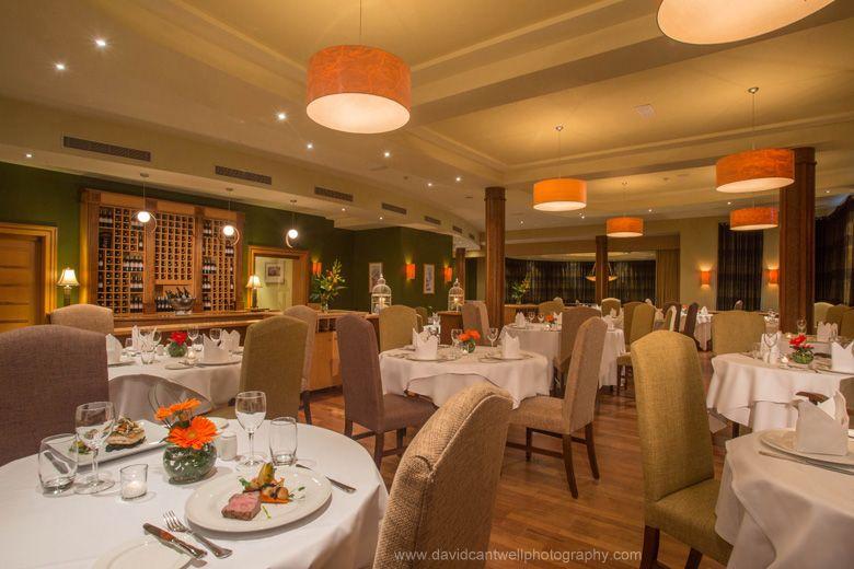 Restaurant Mullingar Park Hotel Westmeath Ireland Photographers David Cantwell Photography