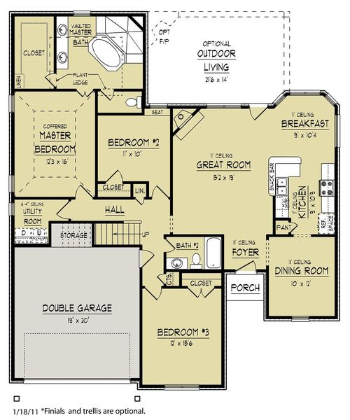 Superb Floor Plan Take Away The Hallway Storage And Utility To Make A Bigger  Master Bedroom