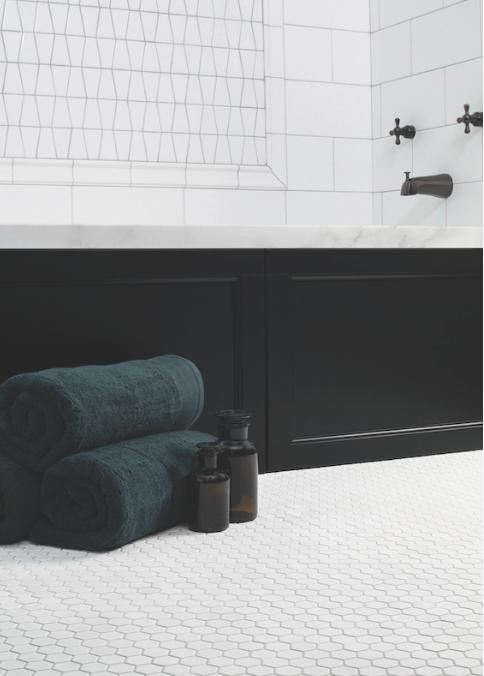 Chapter 5 - Studio Gazette - Icon Mosaic - Hex Flooring - Available ...