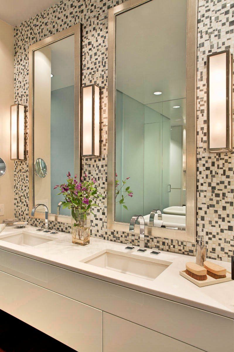 Creative Bathroom Lighting Ideas And Mirror | Bathroom Lighting ...