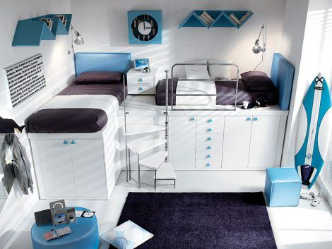 Decorating Kids Rooms Is A Big Responsibility Especially In Case When Two Kids Share The Same Room In This Situation Loft Beds Become A Lifesaver