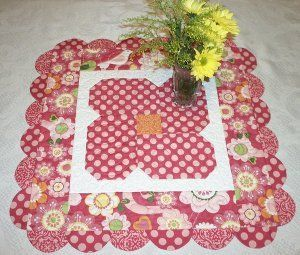 Blossom and Bloom Table Topper