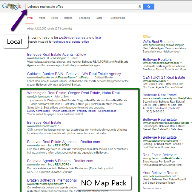 Get Big Search Results with Local SEO for Real Estate  //  http://www.jasonfox.me/get-big-search-results-local-seo-real-estate  //  #LocalSEO #RealEstate #RealEstateMarketing #RealEstateSEO