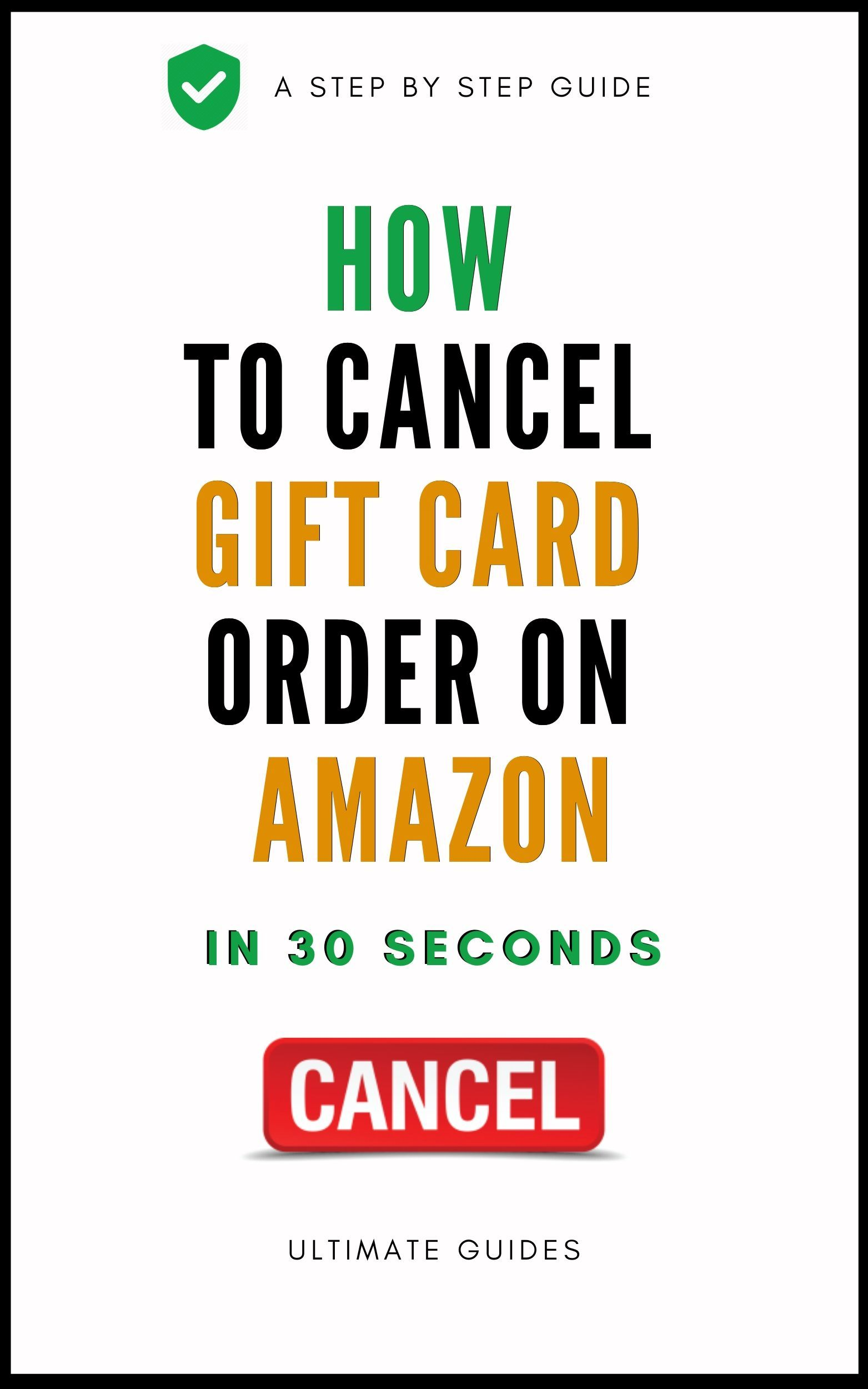 How To Cancel Gift Card Order Gift Card Cards Amazon Gift Cards